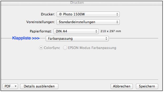 farbenwerk - Farbanpassung unter Mac OSX Lion